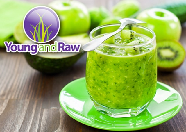 Young and Raw - November - 30 Day Green Smoothie Challenge!